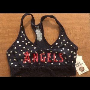 Victoria's Secret pink angels bralette